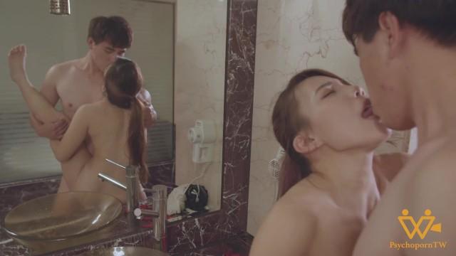 Steamy Hot Sex with Asian MILF in the bathroom- PsychopornTW 色控 7