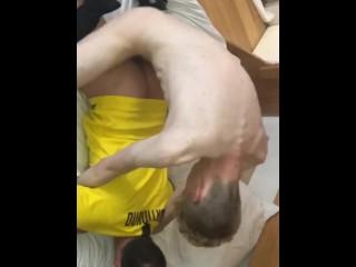 Uncut and thick english dick bareback fucks marc...