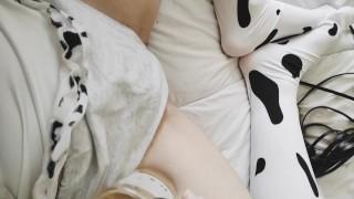 Wet babe pussy in cute panties masturbating cum Idol Japanese POV you catch me