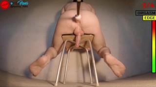 Multiple fucking machine prostate milking orgasms Pt3