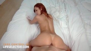 Guilted bride Vanna Bardot using your dick! Eye for an eye!