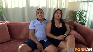Latina mommy wants to fulfill her fantasy of doing porno