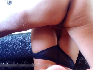 POV Doggystyle and huge cumshot