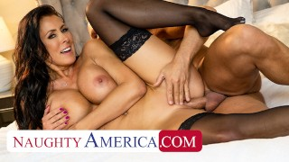 Naughty America - Reagan Foxx fucks her neighbor while husband parties