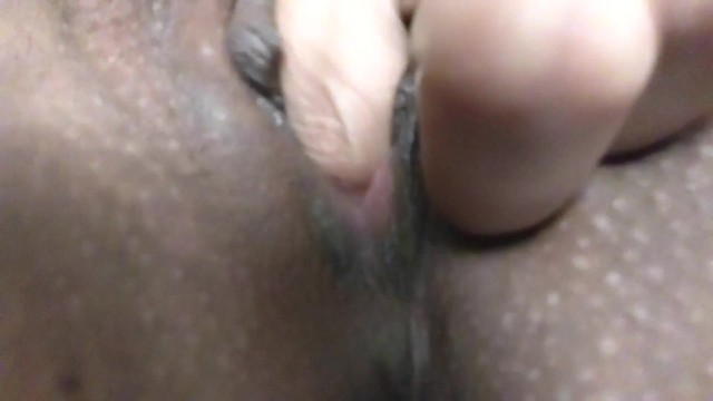 Super close up of my wet and tight little pussy 7