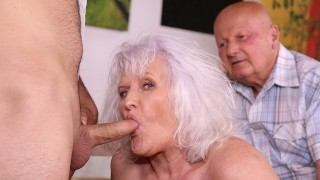 MATURE4K Hey, waiter! A coffee for me and a firm cock for my mature wife!