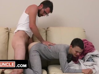 Mega hot step sons bare ass for fathers...