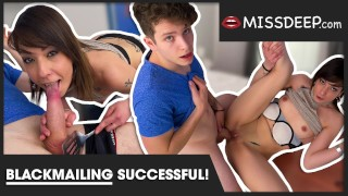 PERFECTLY EXECUTED: stepmother got warned, then: cock in her: Sarah - MISSDEEP