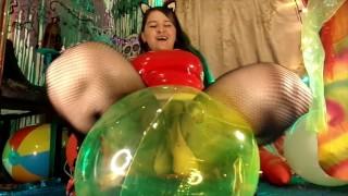 4KHD Latex Dominatrix LOONER Balloons&Inflatables B2P Suck,Fuck,Pussy stuff&Hump BeachBall&Balloons