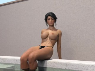 21 more topless amy claire fun...
