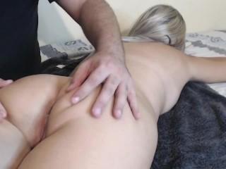Massaging my body i agreed my work...