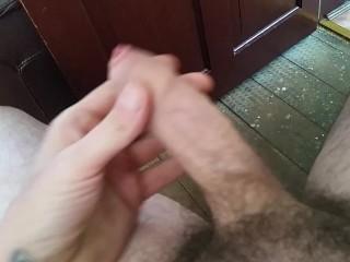 Large white penis
