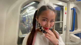 Date YimingCuriosity 006 - Cute but Kinky! Chinese Girlfriend Pigtail Princess Facefuck Deepthroat