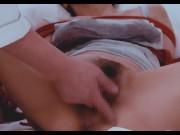 [個人撮影]美人妻の性のVLOG おっぱいをいじられるだけで濡れ濡れなのに電マを使った大洪水 bondage rough porn