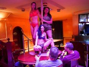 Single Mom's night out at a Strip Joint xvedeo