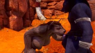 Wild Life Furry Sex 3D