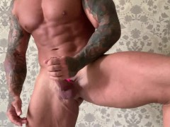 HUGE DICK WITH THE PINK VIBRO RING!