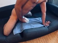 I love Tenga, hole toy, jerking off🥰intense orgasm😍 Asian Japanese men