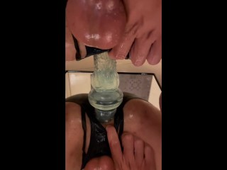 Best angle dick toys in anal japanese boy...
