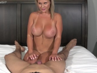 Pulling his cum out in a leg shaking toe curling eruption