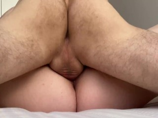 She is so TIGHT! Pussy Eating and Pounding Till Creampie – Close Up