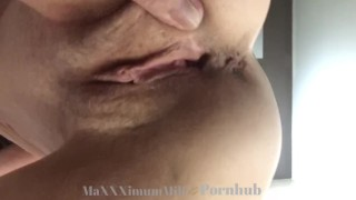 Queefing Granny Gets Her Pussy Pounded In Doggy & Misssionary POV
