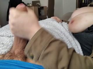 Sofa, película y paja,PARTE 1, se cortó el video :(