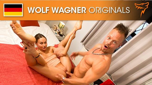 Brunette British Pornstar TINA KAY Fucks A VIRGIN while his Plushies are Watching! WolfWagnerCom