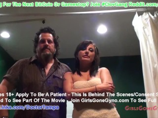 $CLOV Patient Lola Lynn Humiliated By Student Interns Tina Lee Comet & Bruno As Doctor Tampa Watches
