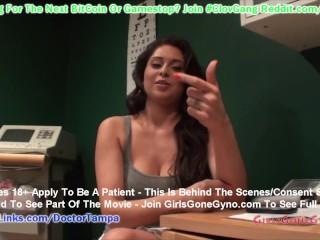 $CLOV Busty Latina Jasmine Mendez Upset Doctor Tampa Takes His Sweet Time Poke & Prodding Her Body!!