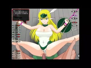 Thicc elf having sex while battle...