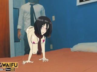 Mikasa ackerman attack on titan real world shingeki...