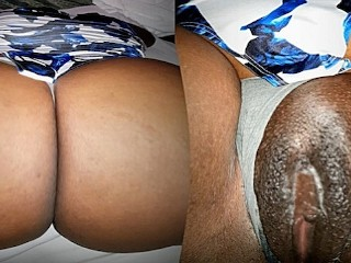 The pleasure of a fleshy juicy ass...