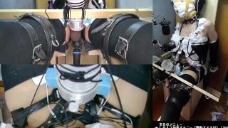 遠隔操作オナホとアナルプラグと電マを装着して最後に射精させられる動画[メスイキ][lovense orgasm][女装][自縛][2021-06-29]