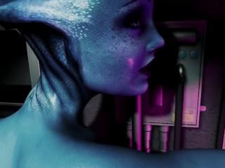 A Legendary Dream with Liara from Mass Effect (parody) VR POV