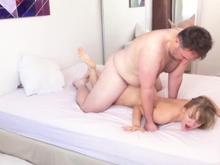 Petite pussy stretched...
