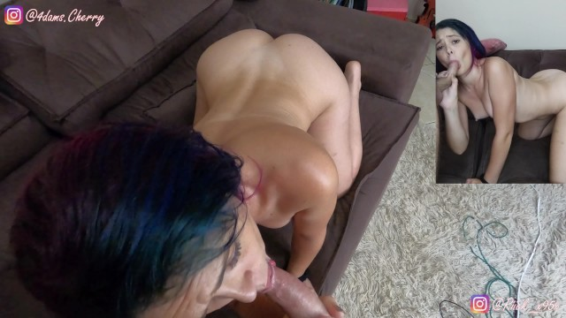 I caught her doing porn video for her OnlyFans - Decided to help fucking her wet and tight pussy! 6