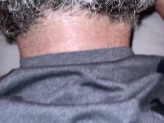 Large Bearded Man Sucks My Pussy