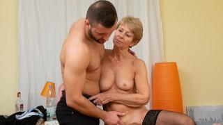 Horny Grannies Masturbating