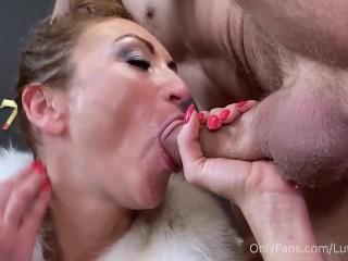 Someones milf deepthroat blowjob cim julia north...