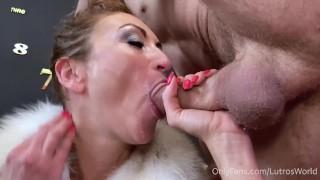 Someone's mom POV MILF deepthroat blowjob CIM - Julia North