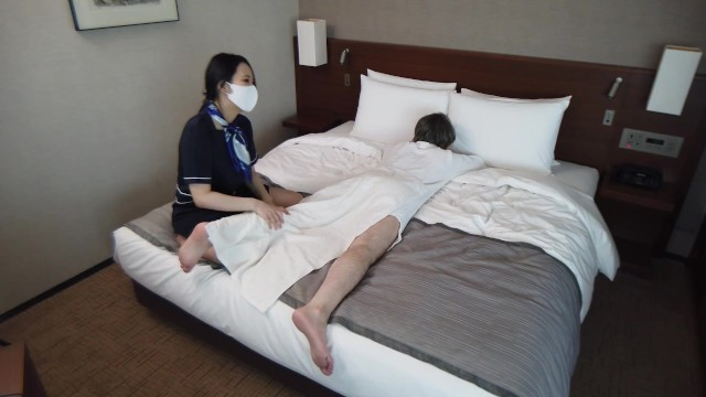 【NTR寝取り動画】美人人妻マッサージ師と本番SEX