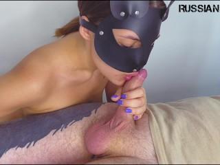 Sucks dick submissive lover cum...