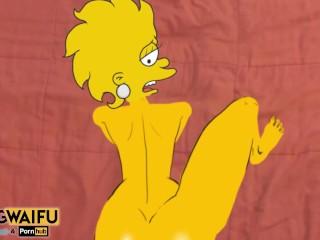 Adult lisa simpson president 2 sex...