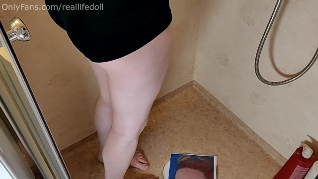 Jealous girlfriend peeing on a picture of your ex 3