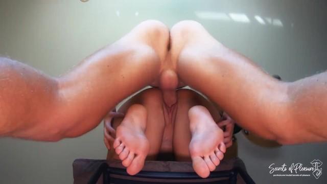 French Pedicure Feet Worship