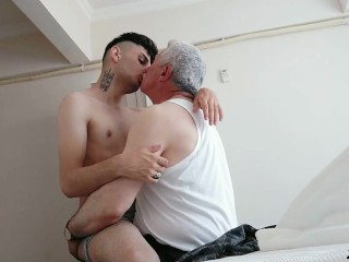 Hot sex from and daddy before intercourse...