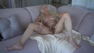 Grandmother masturbation