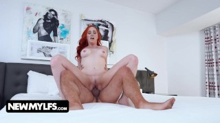 Redhead Milf Nova Sky Interviewed Wants To Join The Porn Industry