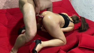 hot brazilian mature leydisgatha in intense anal sex